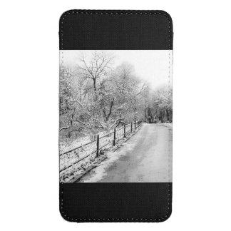 Central Park Winter Snow Landscape Photo Galaxy S4 Pouch
