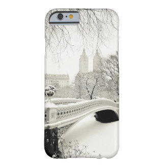 Central Park Winter - Snow on Bow Bridge Barely There iPhone 6 Case
