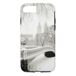 Central Park Winter - Snow on Bow Bridge iPhone 7 Case
