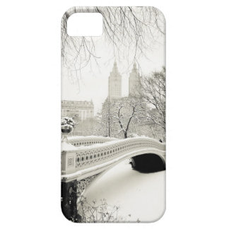 Central Park Winter - Snow on Bow Bridge iPhone SE/5/5s Case