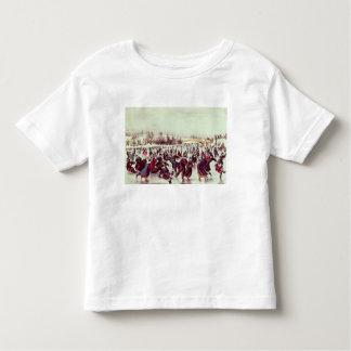 Central Park, Winter: The Skating Carnival Toddler T-shirt