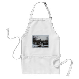 Central Park Wollman Ice Skating Rink Adult Apron