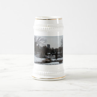Central Park Wollman Ice Skating Rink Beer Stein