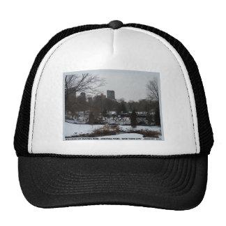Central Park Wollman Ice Skating Rink Trucker Hat