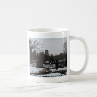 Central Park Wollman Ice Skating Rink Classic White Coffee Mug