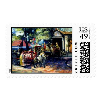 Central Park Zoo Postage