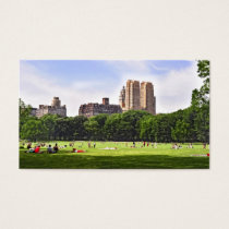 Central Park's Sheep Meadow Business Card