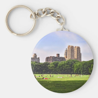 Central Park's Sheep Meadow Keychain
