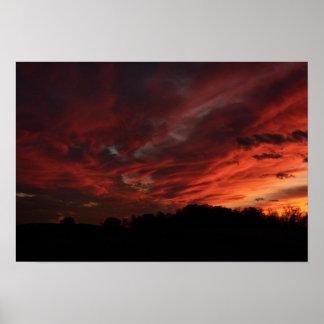 Central Pennsylvania - Sunset Poster