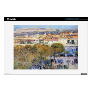 "Central Place and Fort Cabanas, Havana by Hassam 13"" Laptop Skin"