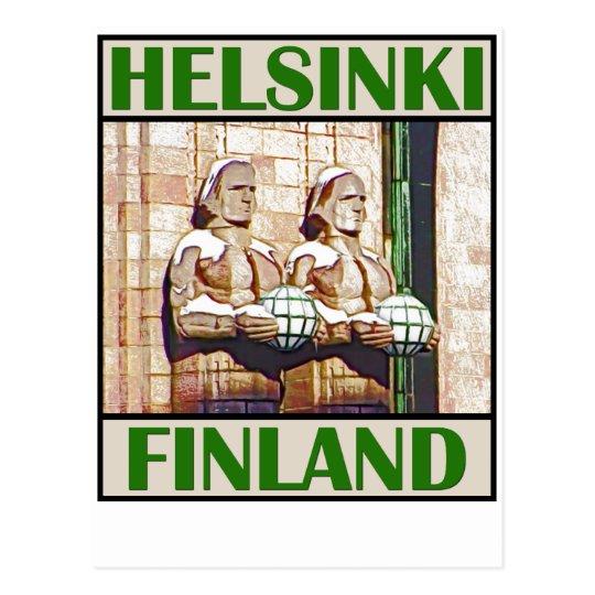 Central Railway Station, Helsinki Postcard