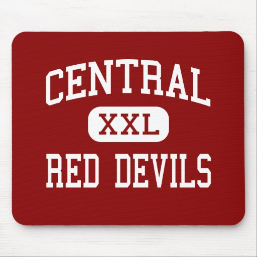 Central - Red Devils - High - Phenix City Alabama Mouse Pad