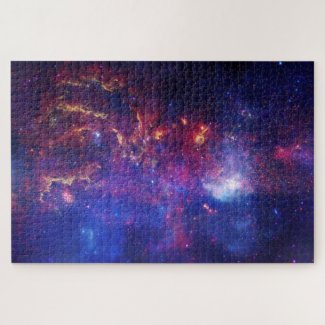 Central region of our Milky Way Space Jigsaw Puzzle