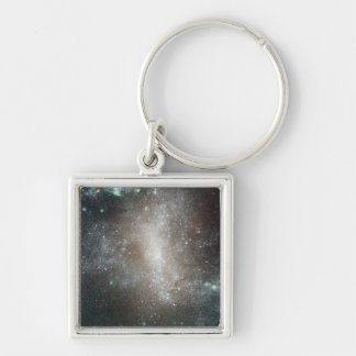 Central region of the barred spiral galaxy keychain