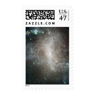 Central region of the barred spiral galaxy postage