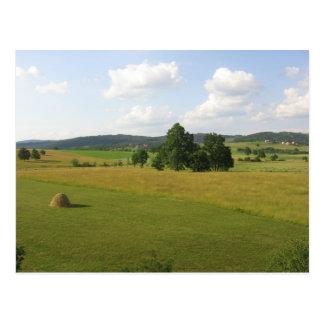 Central Serbian Farms Postcard