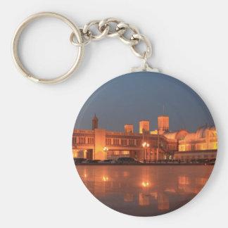 Central Souq or Blue Souk Sharjah jpg Keychain