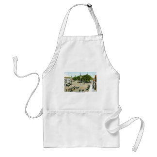 Central Square, Keene, New Hampshire Adult Apron