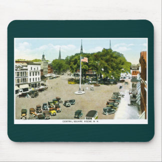 Central Square, Keene, New Hampshire Mouse Pads