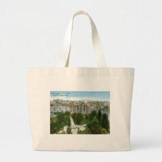 Central Square, Los Angeles Vintage Canvas Bags
