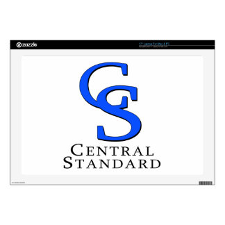 Central Standard merchandise Laptop Decal