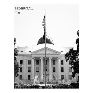 CENTRAL STATE HOSPITAL - MILLEDGEVILLE, GEORGIA LETTERHEAD