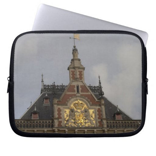 Central Station, Amsterdam Computer Sleeve