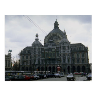 Central Station Antwerp Belgium Post Cards
