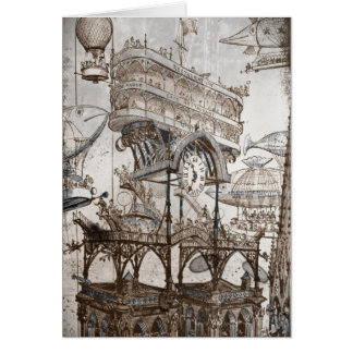 Central Station Notre Dame Greeting Card