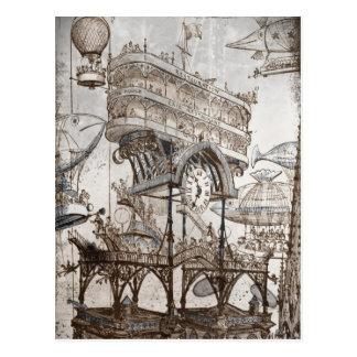 Central Station Notre Dame Post Card