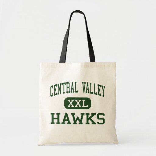 Central Valley - Hawks - High - Ceres California Tote Bags