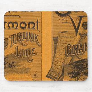 Central Vermont, Grand Trunk Line Mouse Pad