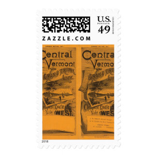 Central Vermont, Grand Trunk Line Stamps