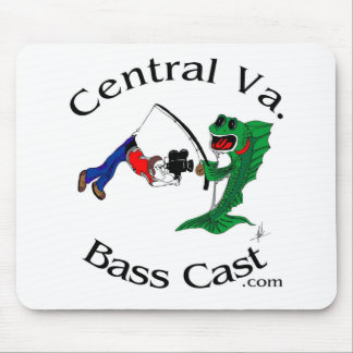 Central Virginia Bass Cast Mouse Pad