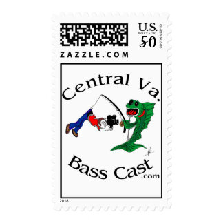 Central Virginia Bass Cast - Stamp