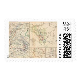 Central Virginia Dinwiddie CH Postage