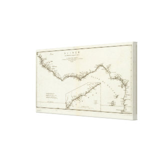 Central West Africa Canvas Print