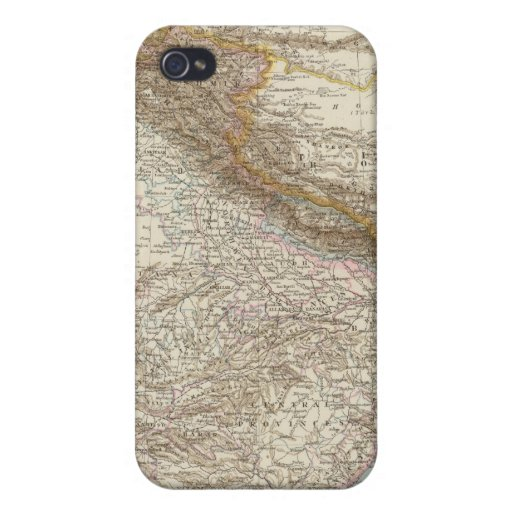 Centralasien, Ostindien - Central and South Asia Cases For iPhone 4
