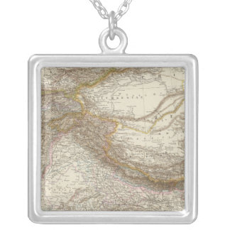 Centralasien, Ostindien - Central and South Asia Square Pendant Necklace