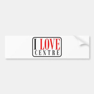 Centre, Alabama City Design Car Bumper Sticker