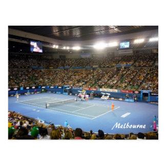 centre court melbourne postcard