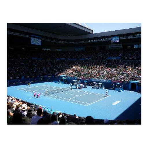 centre court sun postcard