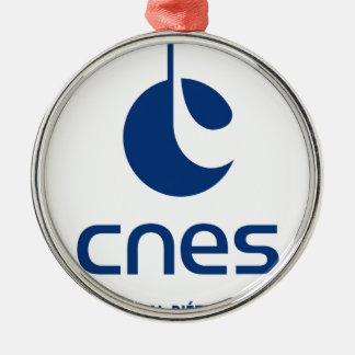 Centre national d études spatiales christmas tree ornament