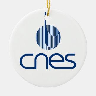 Centre national d études spatiales christmas ornament