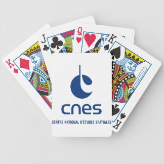 Centre national d'études spatiales bicycle playing cards