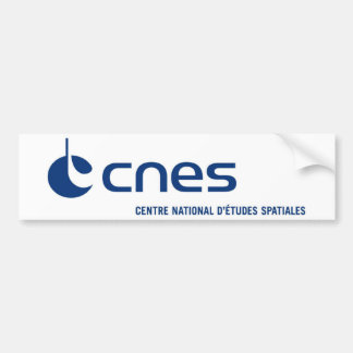 Centre national d'études spatiales bumper sticker