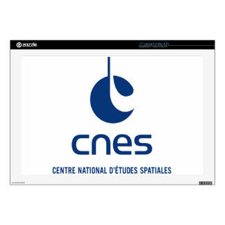 "Centre national d'études spatiales decal for 17"" laptop"