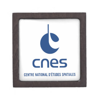Centre national d'études spatiales jewelry box