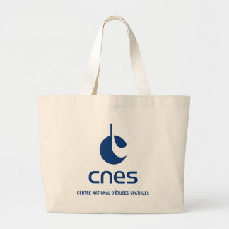 Centre national d'études spatiales large tote bag
