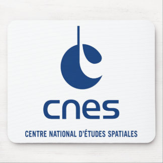 Centre national d'études spatiales mouse pad